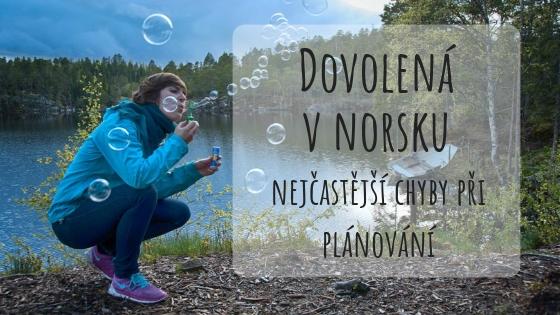 chyby při plánování dovolené do Norska