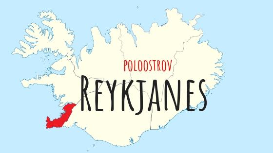 Island Regiony - poloostrov Reykjanes (1)