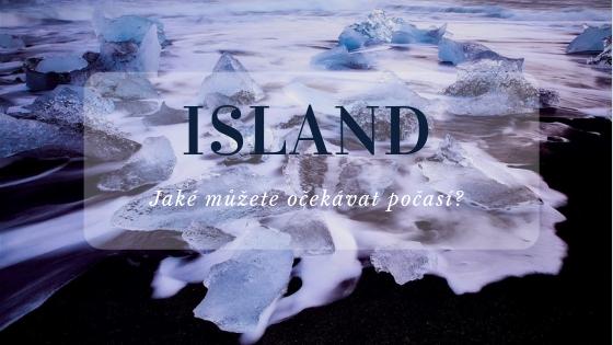 Island počasí nadpis