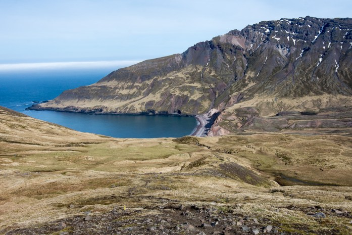 treky v okolí Borgafjordur Eystri, Islandský cestopis
