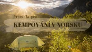 Pravidla pro spaní v autě a kempování v Norsku_nadpis