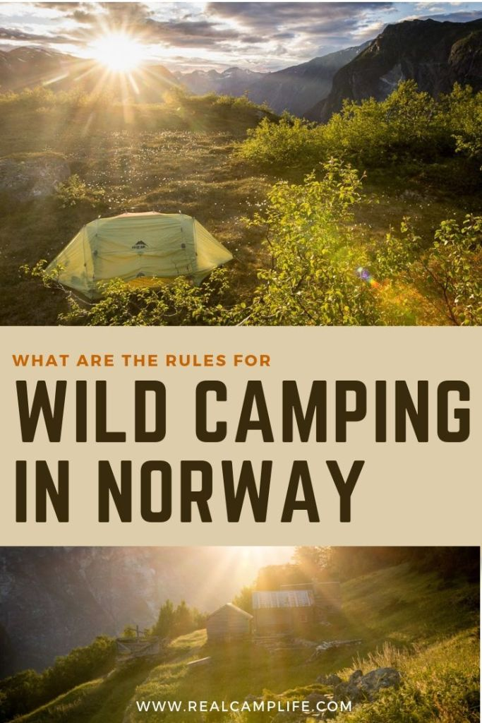 Wild camping and sleeping in a car in Norway (1)