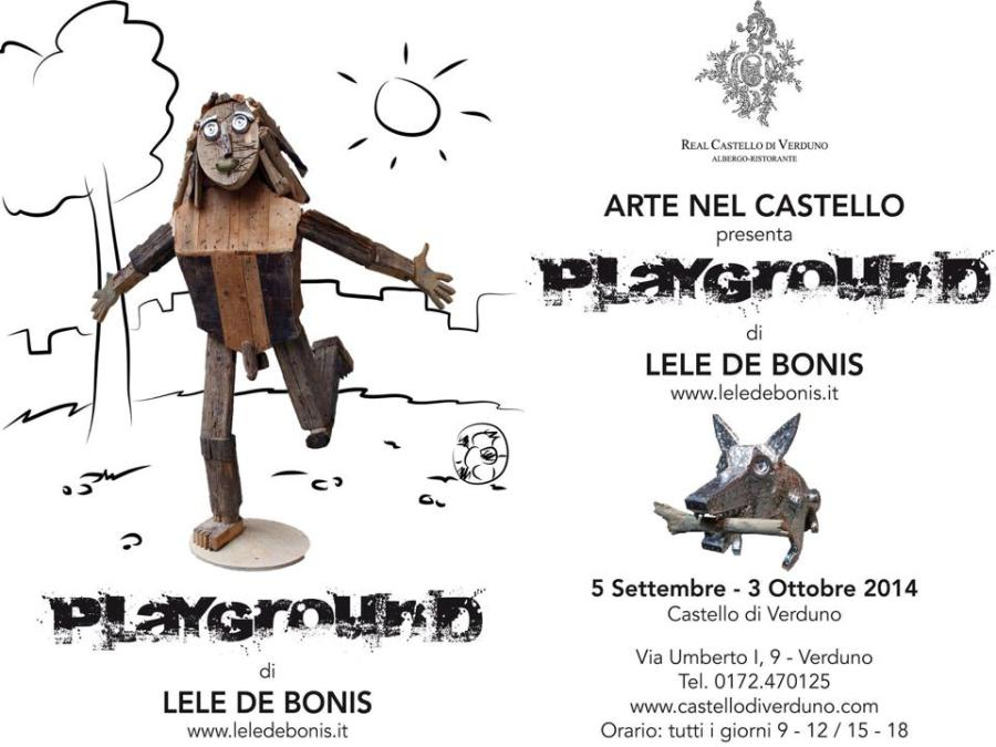 Playground – personale di Lele De Bonis