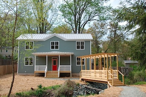 Clients' New Charlottesville Home