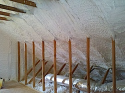 Foam insulation in my attic