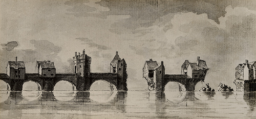 002541:Tyne Bridge C. 1772