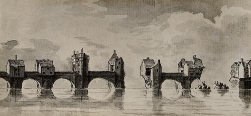 002541:Tyne Bridge C. 1772