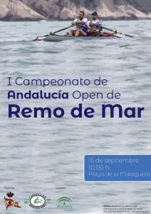 El Andaluz de Remo de Mar, este sábado en La Malagueta