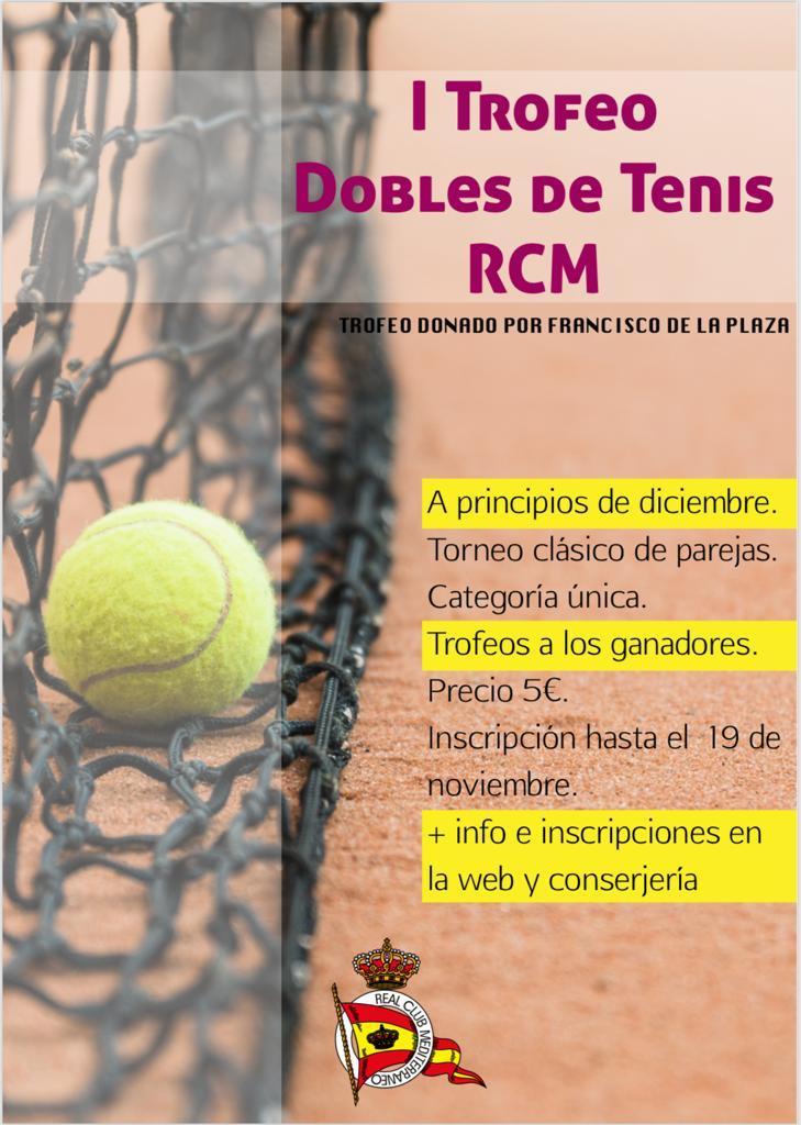 I Trofeo Dobles de Tenis RCM