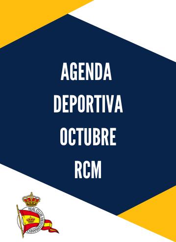 Agenda deportiva RCM octubre