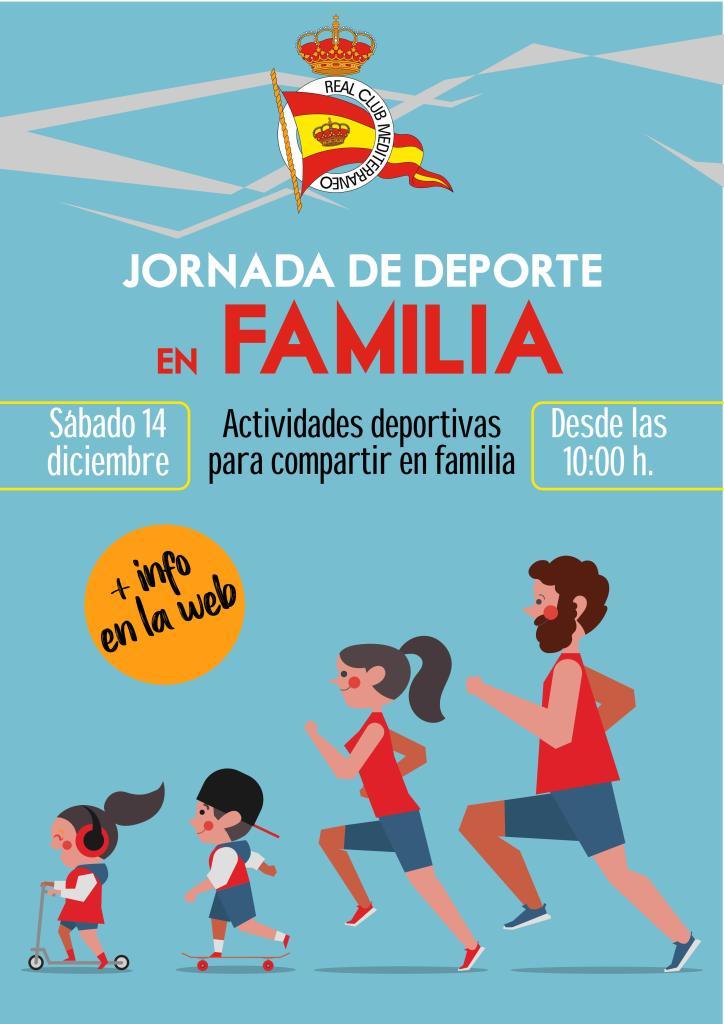 Ven a disfrutar de la Jornada de Deporte en Familia