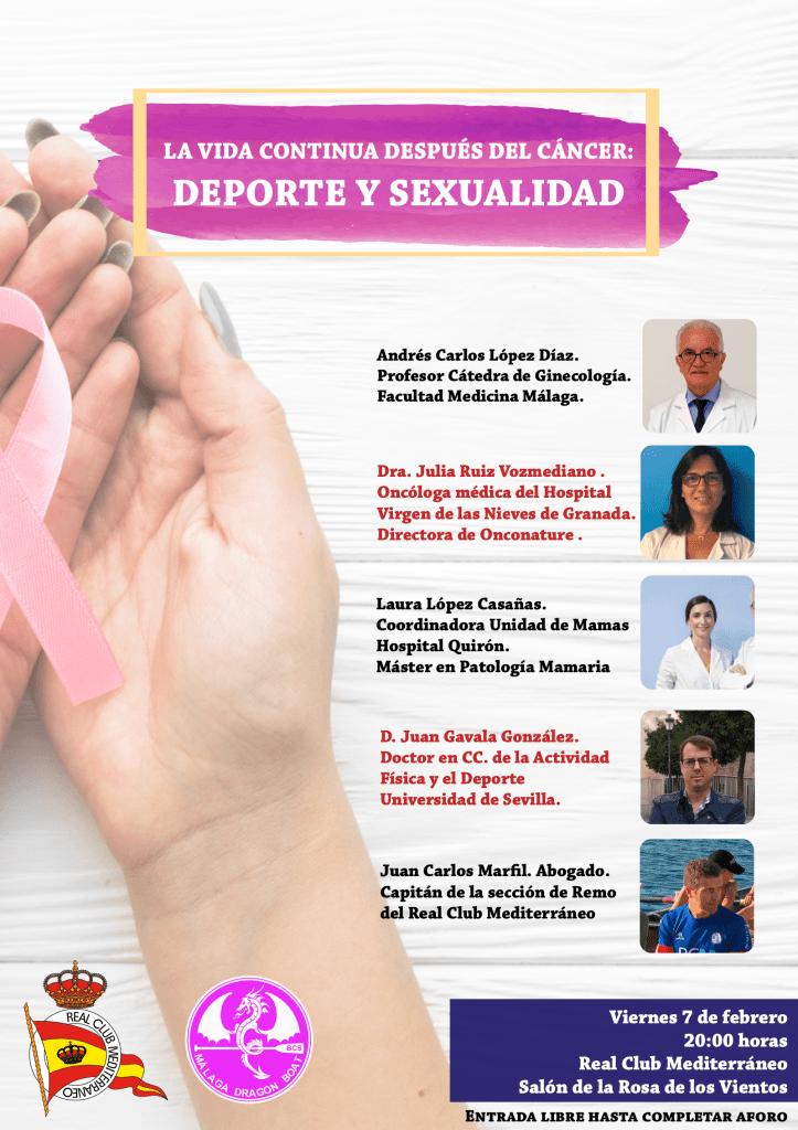 """Mesa redonda """"La vida cotidiana después del cáncer: deporte y sexualidad"""""""