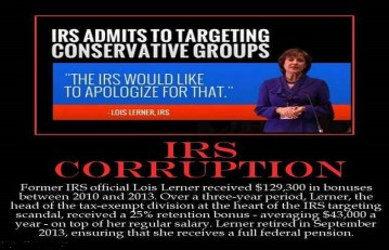 Conservatives win court battle against IRS for discrimination by Obama and Democrats
