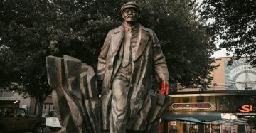 The One Statue That Remains Untouched: Vladimir Lenin