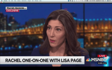 Lisa Page Hired By NBC And MSNBC As Legal Analyst (No, Not The Onion!)