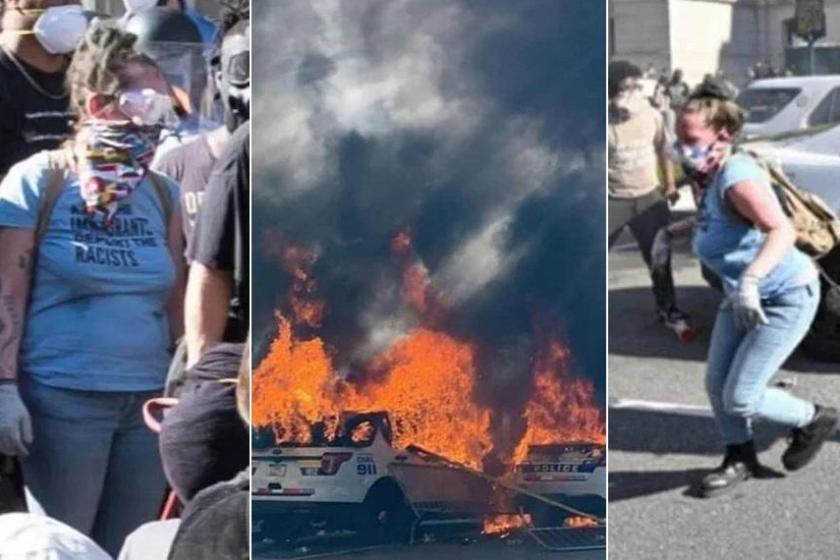 The FBI used social media, an Etsy review, and photos from the scene of a May 30 protest in downtown Philadelphia to track down and arrest 33-year-old massage therapist Elisabeth Blumethal, who allegedly set fire to two Philadelphia police cars during the George Floyd protests.