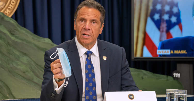 Cuomo Investigates Himself, Finds He's Not at Fault for Deadly COVID-19 Nursing Home Policy