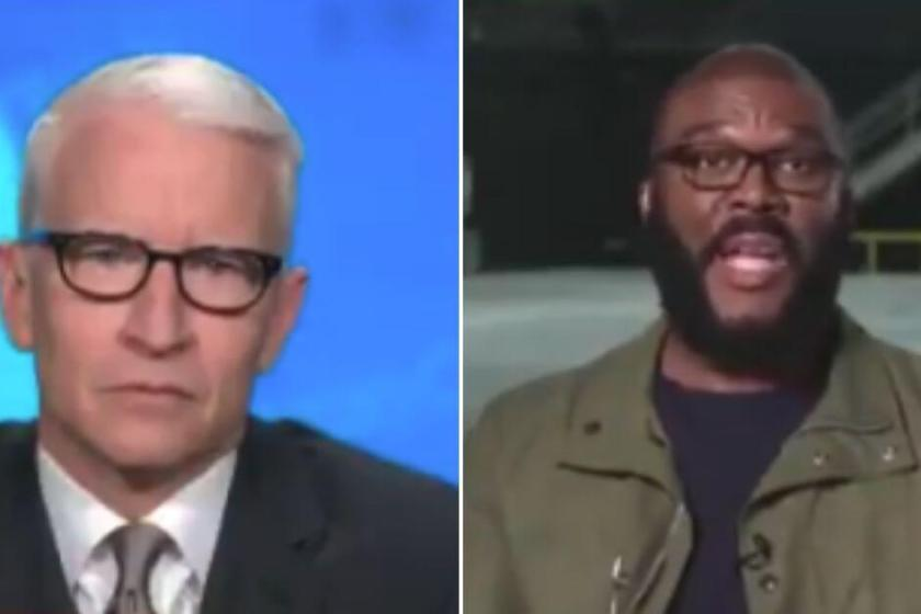 Tyler Perry Defies Dem Narrative, Tells Anderson Cooper: 'We Need More Police'
