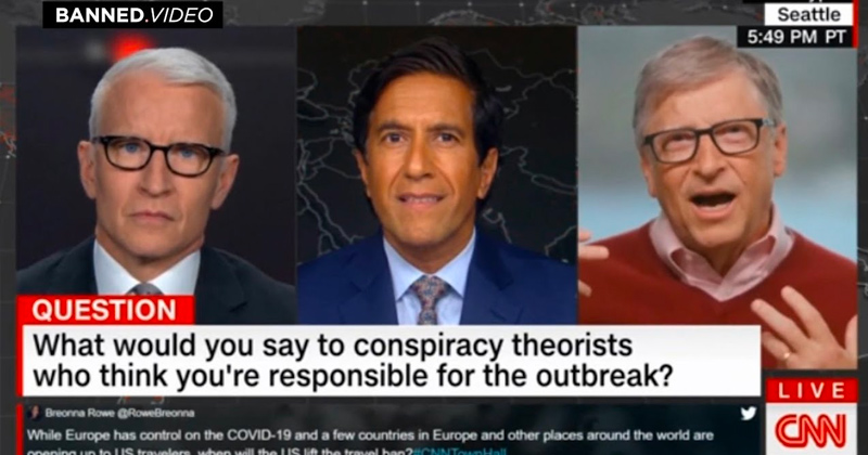 Bill Gates and Anderson Cooper Talk About Vaccine Conspiracy Theories