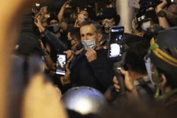 Portland Mayor Tells Neighbors He's Moving After Riot Outside His Condo