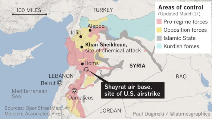 control of Syria