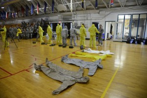 U.S. soldiers train to deploy to West Africa to fight Ebola