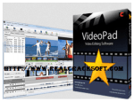 Free Download VideoPad Video Editor 6.01 Registration Code + Crack