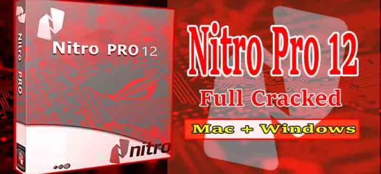 Nitro Pro Crack with Latest v12 Productivity Suite [Windows