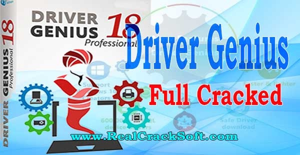 Driver Genius Crack Cover Image