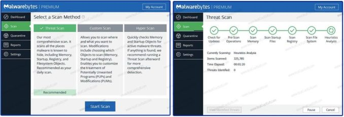 Malwarebytes Anti-Malware Keygen Premium Screenshot