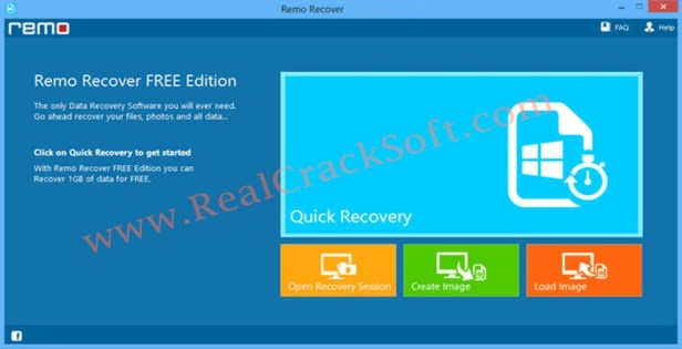 Remo Recover Registered Screenshot
