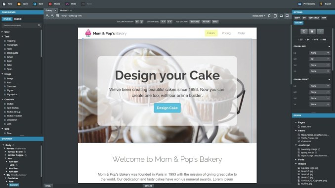 Bootstrap studio Tutorial