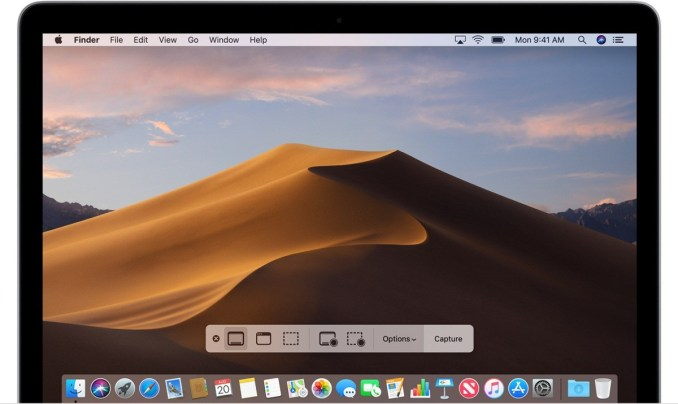 How to capture screen on mac