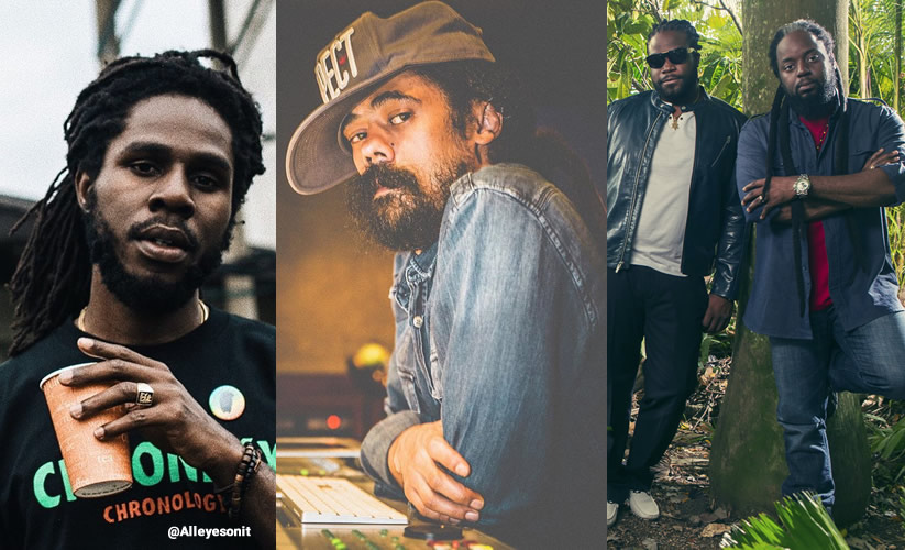 CHRONIXX, DAMIAN MARLEY & MORGAN HERITAGE GETS GRAMMY NOMINATION 2018 CHRONIXX, DAMIAN MARLEY & MORGAN HERITAGE GETS GRAMMY NOMINATION 2018