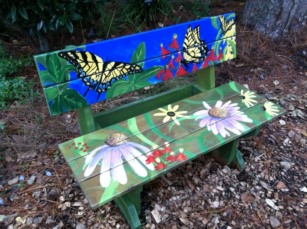 Park Circle Butterfly Garden Spruced Up!