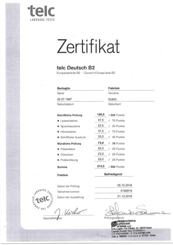 BUY TELC CERTIFICATE WITHOUT EXAM