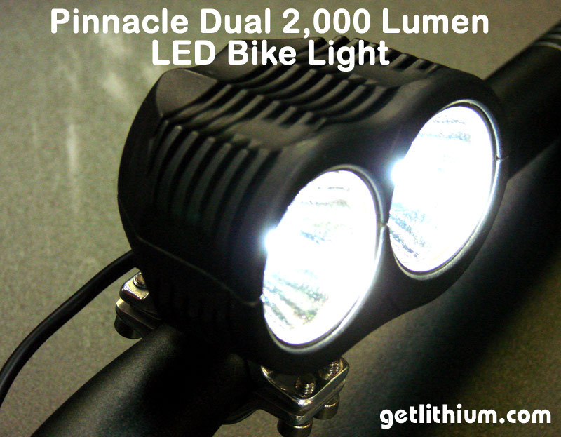 2000 Lumens LED ebike lights  parts for electric assist