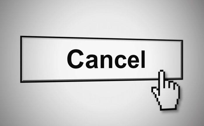 キャンセルのイメージ