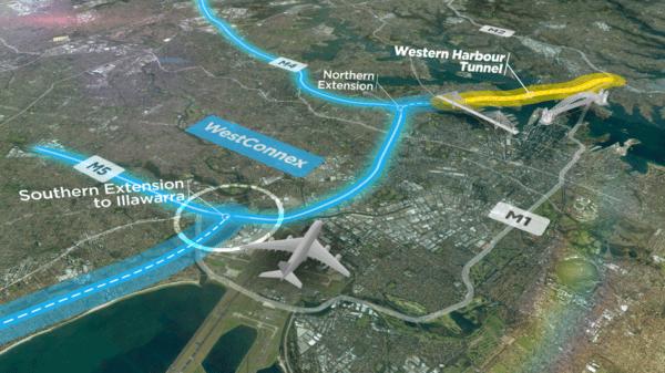 シドニーの道路拡張