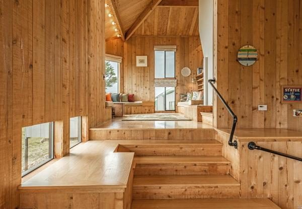Stunning Home Designed By Charles Moore In Sea Ranch Just