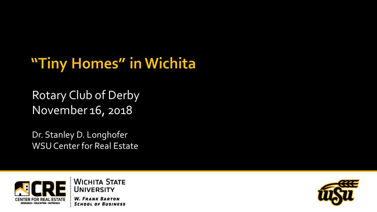 Rotary Club of Derby Presentation