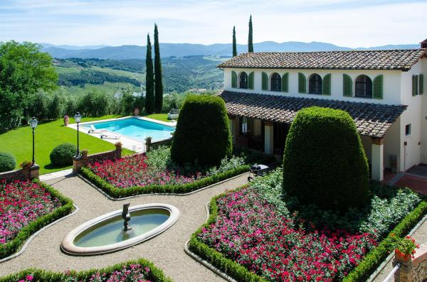 TUSCAN CHIANTI ESTATE: a luxury home for sale in San ...