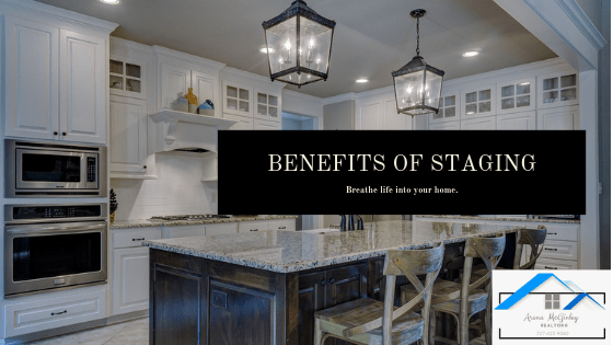 benefits of staging your home