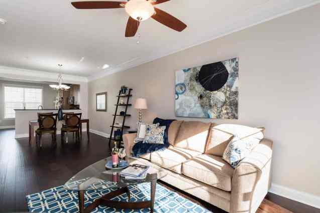 007_Living Room_Cottages at Brier Creek presented by MORE Real Estate