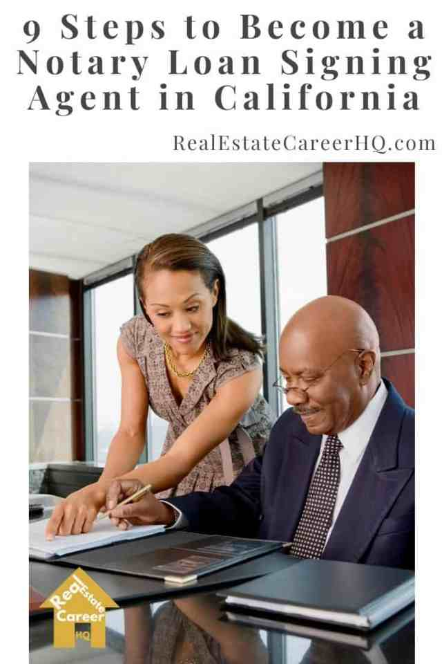 9 Steps to Become a Notary Loan Signing Agent in California