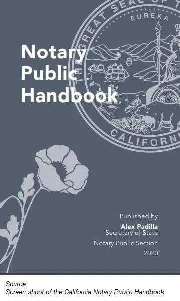 California Notary Public Handbook