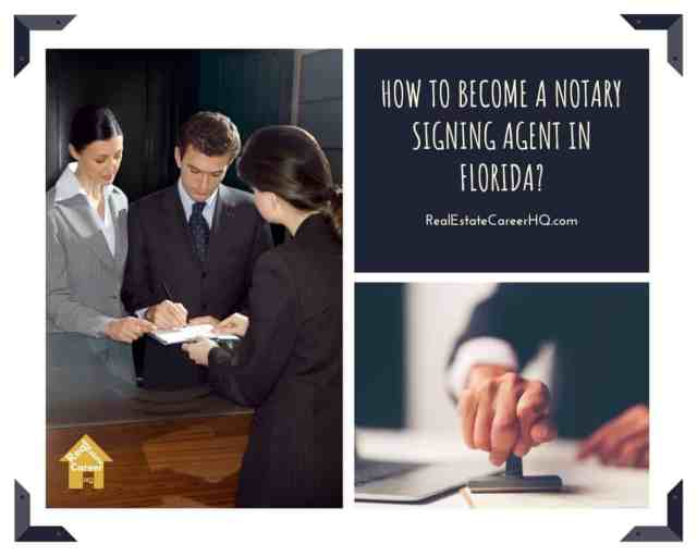 Become a Notary Loan Signing Agent in Florida