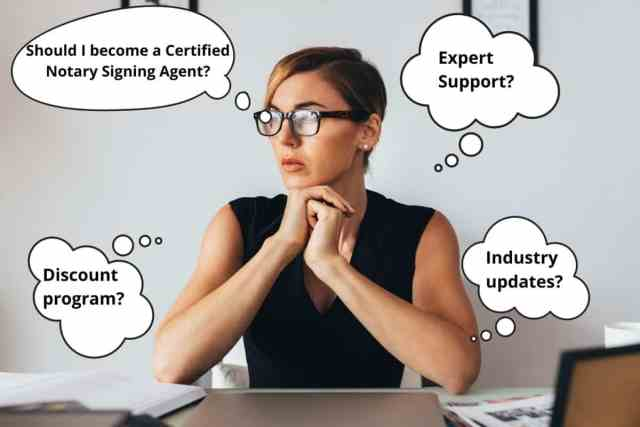 benefits of becoming a Certified Notary Signing Agent