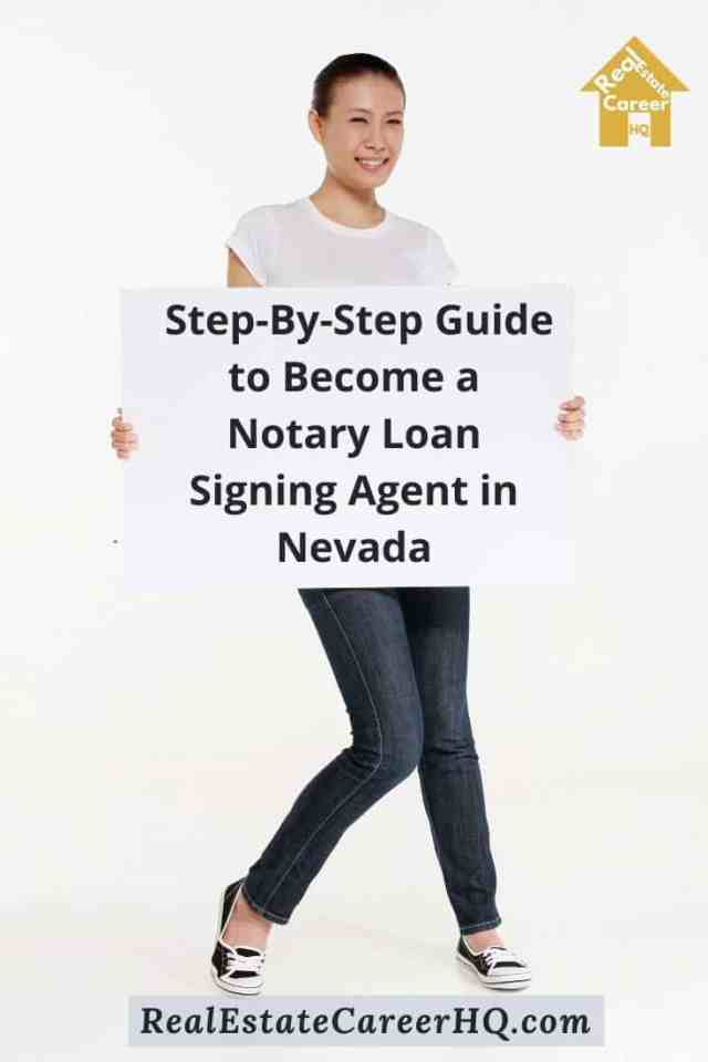8 Steps to Become a Notary Loan Signing Agent in Nevada