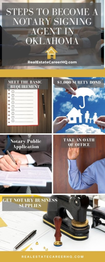 6 Steps to Become a Notary Signing Agent in Oklahoma